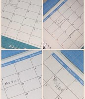 Gratitude Calendars