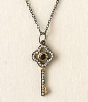 Clover Key Necklace