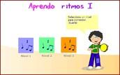 juego de reconocimiento rítmico