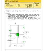 555 Timer Circuit Lab