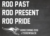 Homecoming 2016 Schedule of Events