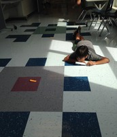 Measuring paper airplane distances