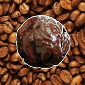 咖啡巧克力雪球餅乾