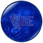Vibe bowling ball