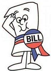 How does a bill become a law ?