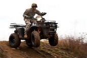Riding The ATV