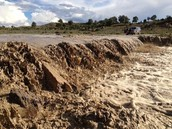 Mud from the flood