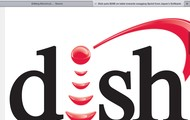 The logo for dish