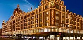 Christmas shopping at Harrods