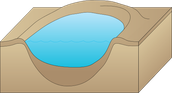 Diagram Of A Crater