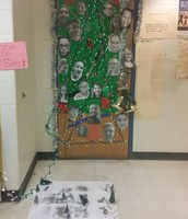 Ms. Wolfrum's Trimmed Student Tree!