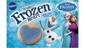Frozen Heart Shaped Cookies