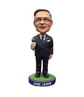 Jamie Jarrin as a bobble-head