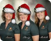 Voldico Team, Jennie, Sherry, Michelle