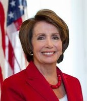 Democrat Nancy Pelosi