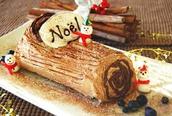 Une Bûche de Noël-A Yule Log