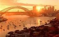 Sunset of Sydney