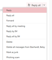 "Is ""Reply all"" your default setting?"