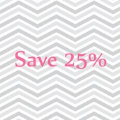 Site-wide 25% savings