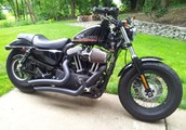 Barely Ridden Sportster '48' with light and tasteful mods!
