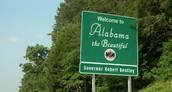 Alabama Welcome Sign