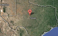 This is texas from the satilite