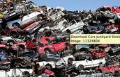 cruched cars