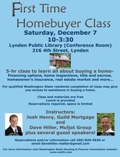 Instructors: Josh Henry (Guild Mortgage) & Dave Hiller (Muljat Group) plus other guest speakers