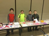 Thanks to our 5th Grade volunteers!