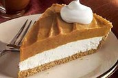 Pumpkin pie 20% off originally $3.75 now $3.00