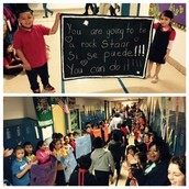 Students Celebrate Preparedess for STAAR - Big Gains!