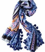 Capri Cotton Wrap- SOLD