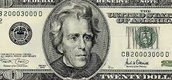 Who should be on the $20.00 bill?
