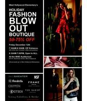 Fashion Blowout, December 12