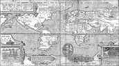 A map of the world that Francis Drake knew