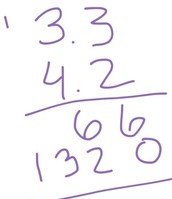 How to Multiply Decimals: Step 2