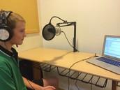 Recording the grade 9th singing