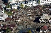 Rumah-rumah yang telah musnah