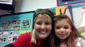 Me and Ms Mc Bee