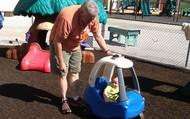 Jeremiah driving grandpa around