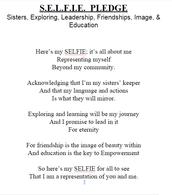 S.E.L.F.I.E. Pledge