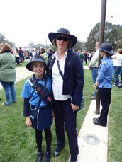 Uniform on ANZAC Day