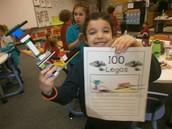 Building with 100 Legos