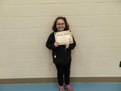 Lillian Fox - Fifth Grade