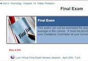 Our Final Exam Review is coming soon !
