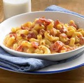 Mac & Cheese with Diced Ham