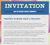 Join the VISConti Community