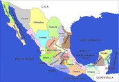 Area of Mexico