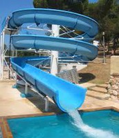 This is the water slide