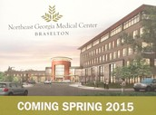 New Hospital  - Opens Spring 2015